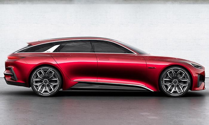 Kia a koncept hot hatchbacku Proceed