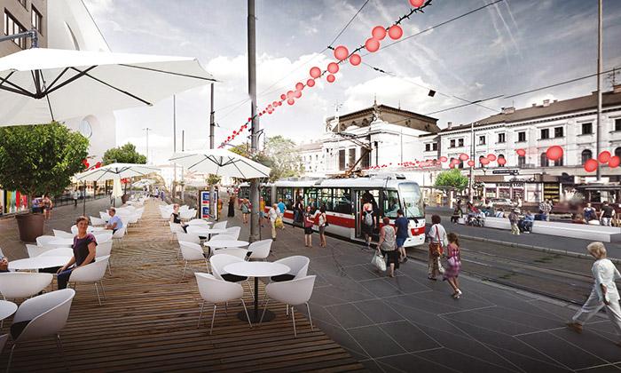Brno vystavuje zlepšující návrhy naMěstské zásahy