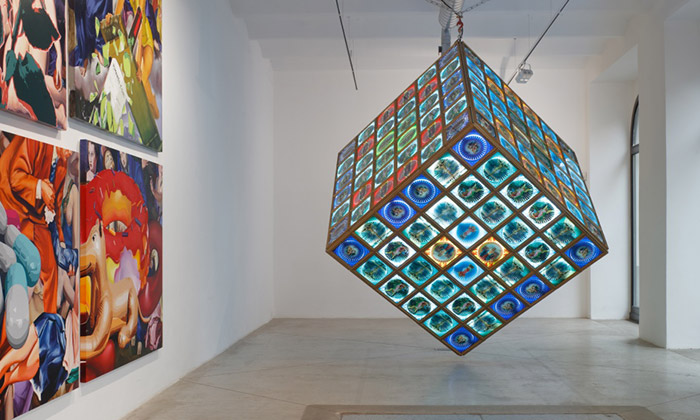 Pasta Oner a ukázka z výstavy Art is Truth