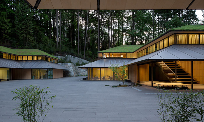 Kengo Kuma postavil vPortlandu japonskou vesnici