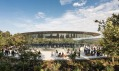 Steve Jobs Theater v kalifornském Apple Park od Foster + Partners