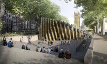 Vítězný návrh naUK Holocaust Memorial odAdjaye Associates aRon Arad Architects
