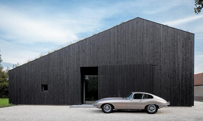 Villa SG21 nedaleko Rotterdamu od ateliéru Fillié Verhoeven Architects