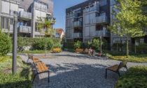 Obytný soubor na Vackově v Praze, UNIT architekti, Land05