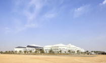 KAPSARC neboli King Abdullah Petroleum Studies and Research Centre od Zaha Hadid Architects