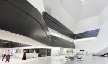 KAPSARC neboli King Abdullah Petroleum Studies and Research Centre od Zaha Hadid Architects