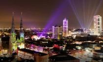 Festival světla Glow vnizozemském Eindhovenu