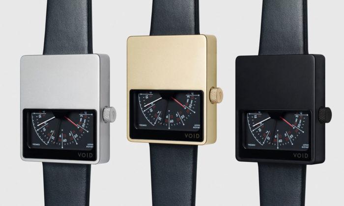 VOID Watches navrhují hodinky sgeometrickými tvary ajednoduchými materiály