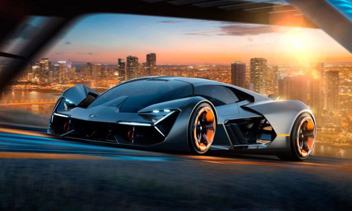 Lamborghini sMIT navrhli elektrický sporťák Terzo Millennio pro třetí tisíciletí