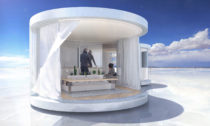 Modulární a prefabrikované obydlí LumiShell