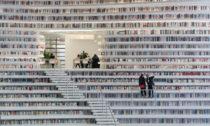 Tianjin Binhai Library od MVRDV