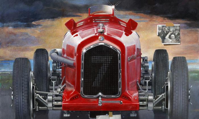 Theodor Pištěk slaví 85.narozeniny výstavou obrazů uSklenáře