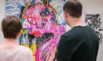 Ukázka zpop-up výstavy Prag Art Works