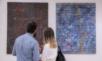 Ukázka z pop-up výstavy Prag Art Works