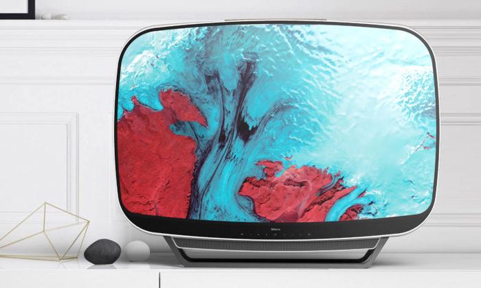 Přenosná retro televize Teleavia z60.let dostala nový svěží design