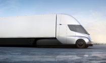 Elektricky poháněný kamion Tesla Semi