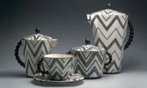 Kávový soubor skuličkovými oušky, 1911 Pavel Janák (1882–1956)