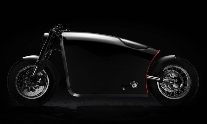 Bandit9 navrhli futuristickou motorku Odyssey skomponenty zletadel