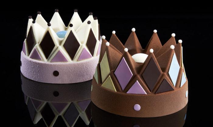 Konstantin Grcic navrhl pro Häagen-Dazs vánoční zmrzlinovou korunu
