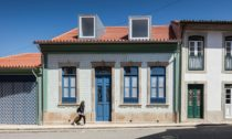 Dům vportugalském městě Ovar porekonstrukci