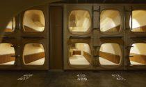 ℃ Ebisu sauna skapslovým hotelem vTokiu