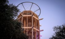 Věž Ester vJeruzalémě odHuti architektury Martina Rajniše