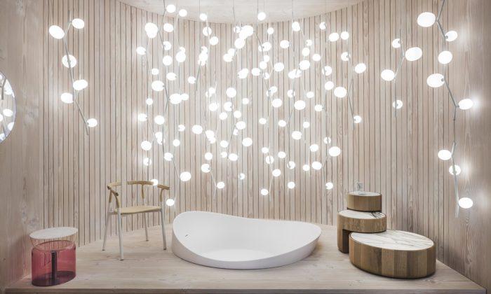 Lucie Koldová vytvořila dům Das Haus plný nových svítidel anábytku