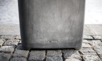 Odpadkový koš z betonu Better od české značky Mmcité