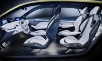Koncept elektricky poháněného vozu Vision E