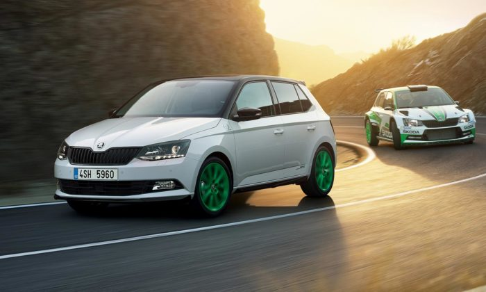 Škoda oslavuje limitovanou edici vozu Fabia svůj úspěch vrallye