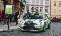 Škoda Fabia R5 v Praze