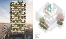 Trudo Vertical Forest v nizozemském Eindhovenu od Stefano Boeri Architetti