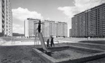 Zdeněk Voženílek: Snímek sídliště Ďáblice vPraze, 1.polovina 70.let