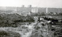 K. O. Hrubý: Výstavba sídliště Lesná vBrně, 1968