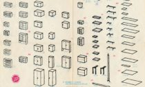 Prospekt sestavovací nábytkové řady Universal, 70. léta