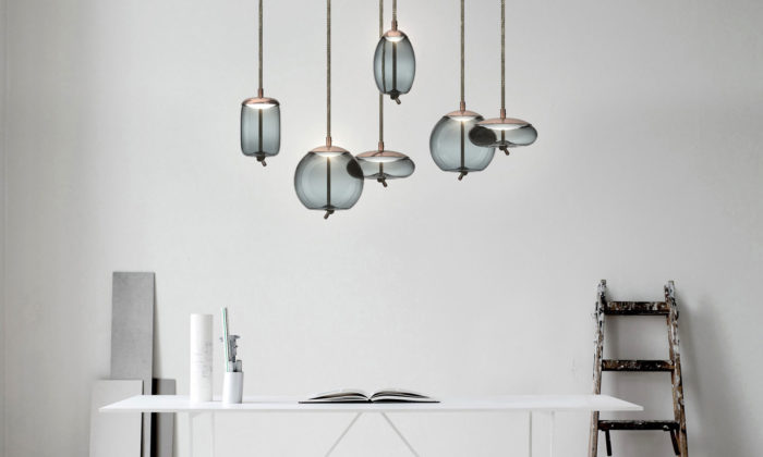 Chiaramonte Marin navrhli pro Brokis svítidla Knot Small domenších interiérů
