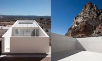 Casa en la Ladera de un Castillo od Fran Silvestre Arquitectos