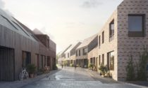 Projekt Støberikvarteret rozšiřující město Ribe vDánsku