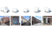 Projekt Støberikvarteret rozšiřující město Ribe v Dánsku