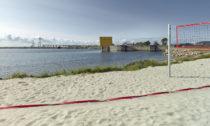 Water Sports Center Halsskov v Dánsku od Sweco Architects