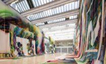 Katharina Grosse aZázračný obraz vNárodní galerii veVeletržním paláci