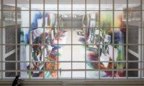 Katharina Grosse a Zázračný obraz v Národní galerii ve Veletržním paláci