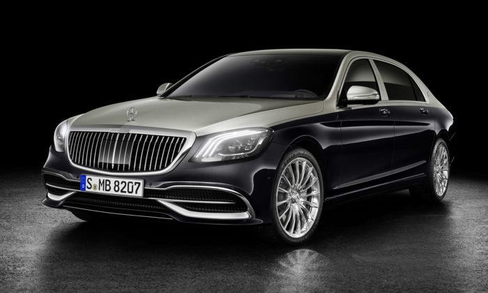 Mercedes-Maybach seinspiroval svým konceptem ainovoval sedan třídy S