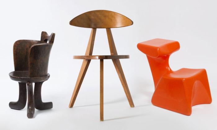 Německo vystavuje 290 nejšílenějších iikonických dětských židlí vhistorii