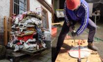 Německý projekt stoliček Scrap Life z odpadního plastu