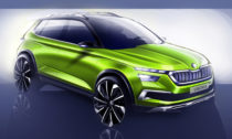 Škoda Vision X naprvních skicách