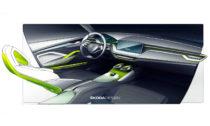 Škoda Vision X na prvních skicách