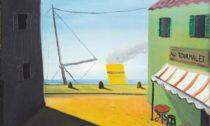 Kamil Lhoták: Au Tourmalet, 1939, olej na plátně