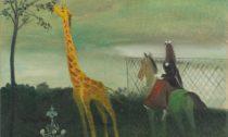 Kamil lhoták: Žirafa, 1941, olej na plátně