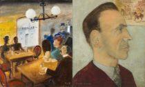 Kamil Lhoták: V americkém saloonu r. 1885 a Básník František Hrubín, 1951